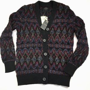Lucky Brand Multi-Color Sweater Cardigan